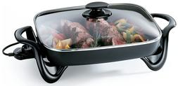 Presto 06852 16-Inch Electric Skillet with Glass Cover - NEW