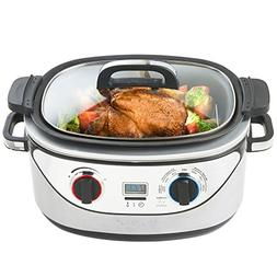 1 multi cooker stainless steel