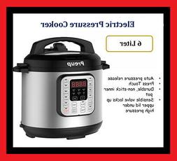 1000W Electric Pressure Cooker 12 Cooking Programs Timer Ric