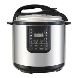 SUNCOO 1200W 8QT  Digital Pressure Cooker Electric Multifunc