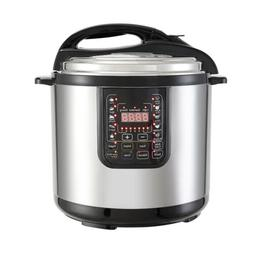 1200W 8QT Electric Digital Pressure Cooker Multifunction Sta