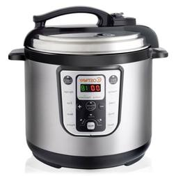 1250W 8 quart Kitchen Programmable Stainless Steel Electric