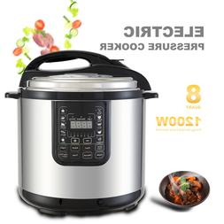 1600W 12QT Electric Digital Multifunction Pressure Cooker St