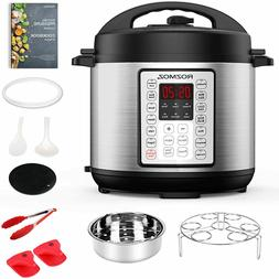 14 In 1 Instant Electric Pressure Cooker 6Qt One Touch Progr
