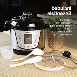 COSORI 2.1 Qt 7-in-1 Electric Pressure Cooker with Instant S