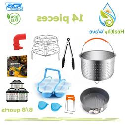 6/8 Quart Pressure Cooker Accessories for Instant Pot 6/8 QT