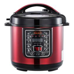 6QT Slow Cooker Programmable Multifunction Electric Pressure