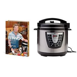 Pressure Cooker XL 8 Qt Cookware + Eric Theiss' Power Pressu