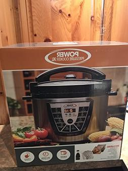Power Pressure Cooker XL 8QT with Chopper, Recipe and Cannin