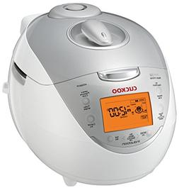 Cuckoo CRP-HV0667F Pressure Rice Cooker 6 Cups Uncooked  Sil