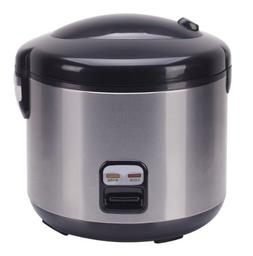 SPT SC-1813SS 10 Cups Rice Cooker with Stainless Body, one S