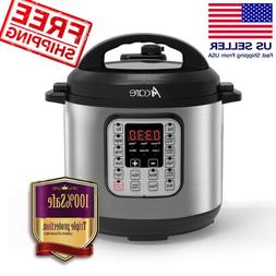 A++ Quality 6 Quart Electric Pressure Cooker Home Kitchen 7-
