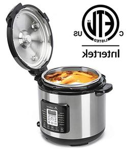 Aobosi Pressure Cooker 8QT 8-in-1 Electric Multi-cooker,Rice