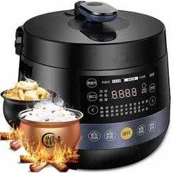 Automatic Electric Pressure Cooker with Eight Functions 4.8L