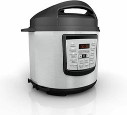 BLACK+DECKER 6 quart 11-in-1 Cooking Pot, Stainless Steel, P