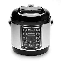 Aroma Professional 8 Cup Cooked, 4 Cup Uncooked Digital Cool