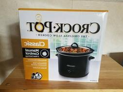 Crock-Pot The Original Slow Cooker SCR400-B Manual Control,