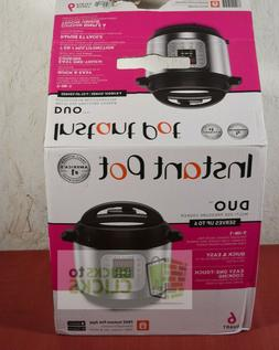 Instant Pot DUO60 6 Qt 7-in-1 Multi-Use Programmable Pressur