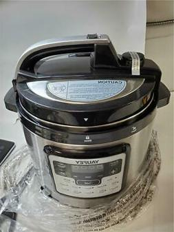 Yaufey Electric Pressure Cooker 6.3Qt 12-in-1 Instant Stainl