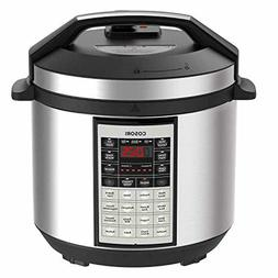 COSORI Electric Pressure Cooker 6 Qt 8-in-1 Instant Stainles