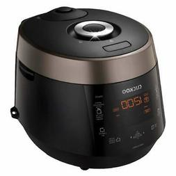 Cuckoo 6-Cup Electric Pressure Rice Cooker, CRP-P0609S, 120V