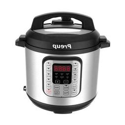 Electric Stainless Steel Cuisinart Pressure Cooker Programma