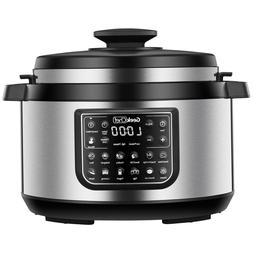 Geek Chef 8 Qt 12-in-1 Programmable Electric Pressure Slow C