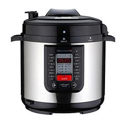 Homeleader 8-in-1 Stainless Steel Pot Electric Pressure Cook