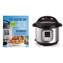 Instant Pot Electric Pressure Cooker Cookbook and Cook Times
