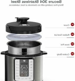 Pot Ultra 10-in-1 Electric Pressure Cooker - 6Qt rice cooker