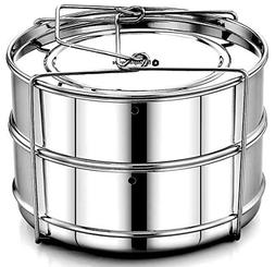 EasyShopForEveryone Stackable Steamer Insert Pans with Vent