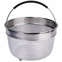 Karryoung KA08 Steamer Basket for Instant Pot, 8 Quart, Silv