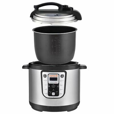 1250W Quart Electric Pressure Multi-Use Stainless Steel