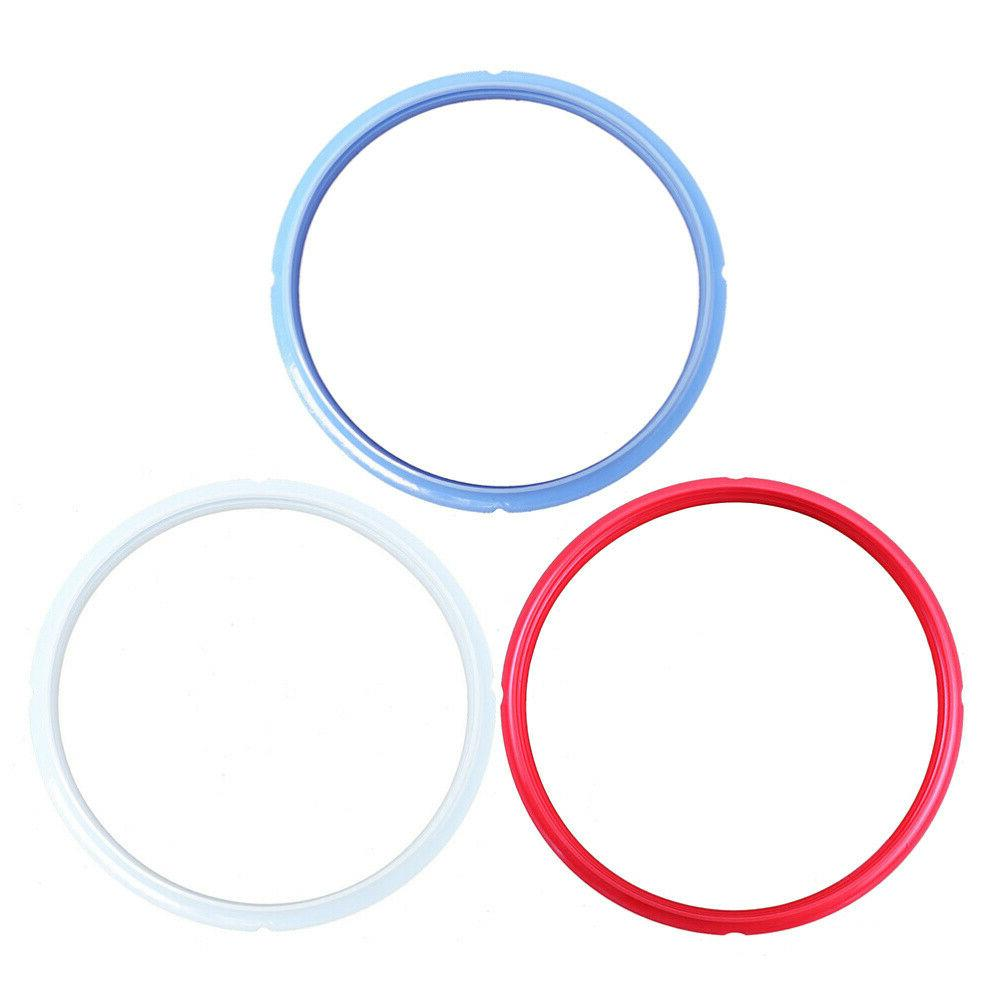 3Pcs Pressure Cooker Sealing Rings Silicone Electric Pressur