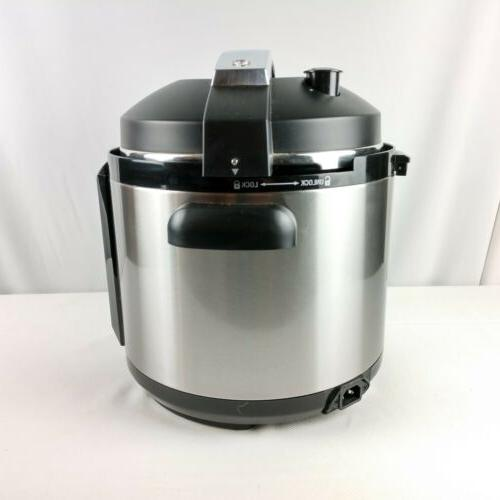 Cuisinart 6 Pressure Cooker CPC 600 Series New
