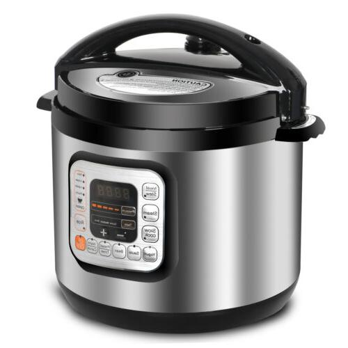 6 Pressure Cooker Presets Powerful