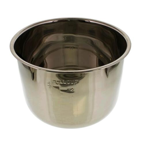 6 Stainless Removable Pressure Cooker Cooking Pot