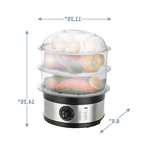 Maxi-Matic EST-2301 Food 8.5 Stainless Steel