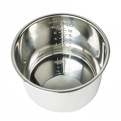 Multi-Use Programmable Pressure 6 Stainless Steel by Houseware