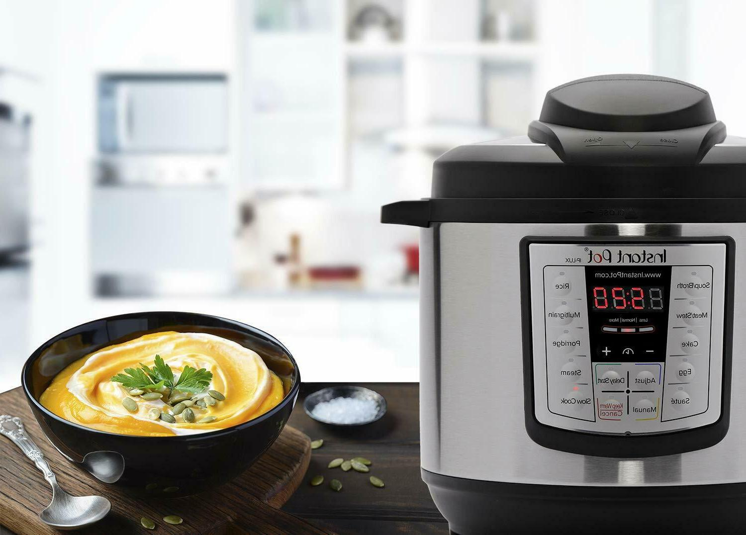 Instant Pot Cooker in Programmable Instapot