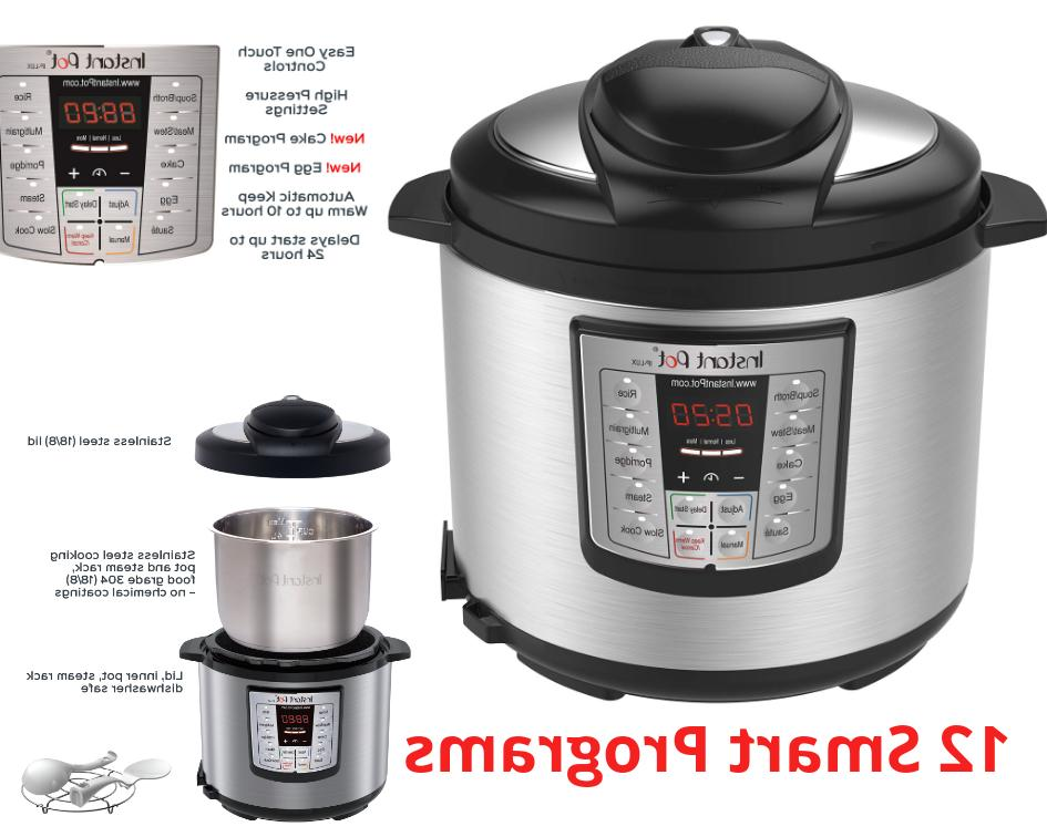 pressure slow cooker 12 in 1 programmable