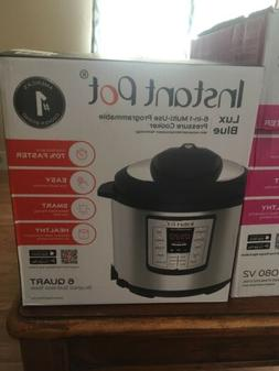 Instant Pot Lux 1000W Electric Pressure Cooker 6 Quart 6-in-