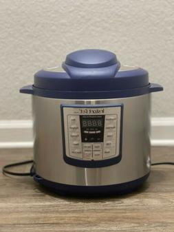 Instant Pot Lux 6 Qt Red 6-in-1 Muti-Use Programmable Pressu