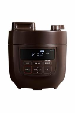 New Siroca Electric pressure cooker AC100V 1.3L Brown from J