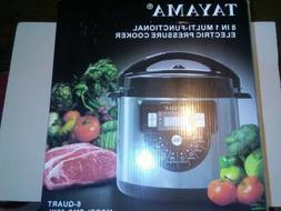 NEW Tayama TMC-60XL 6 Quart 8 in 1 Multi Function Pressure C