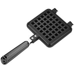 Non-Stick Double-side Waffle Baking Mold Pan Household Gas A