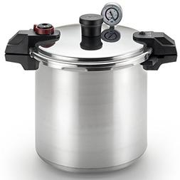 T-fal P31052 Polished Pressure Canner and Cooker with 2 Rack