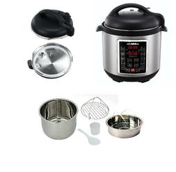 Gowise USA Pressure Cooker 10 in 1 Programmable 8 Quart Elec