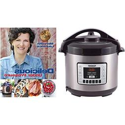 "Nuwave 8 qt. Digital Pressure Cooker with ""Delicious Under P"