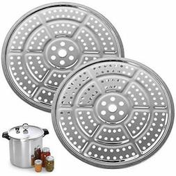 2-Pack Pressure Cooker Canner Canning Rack Stainless Steel 1